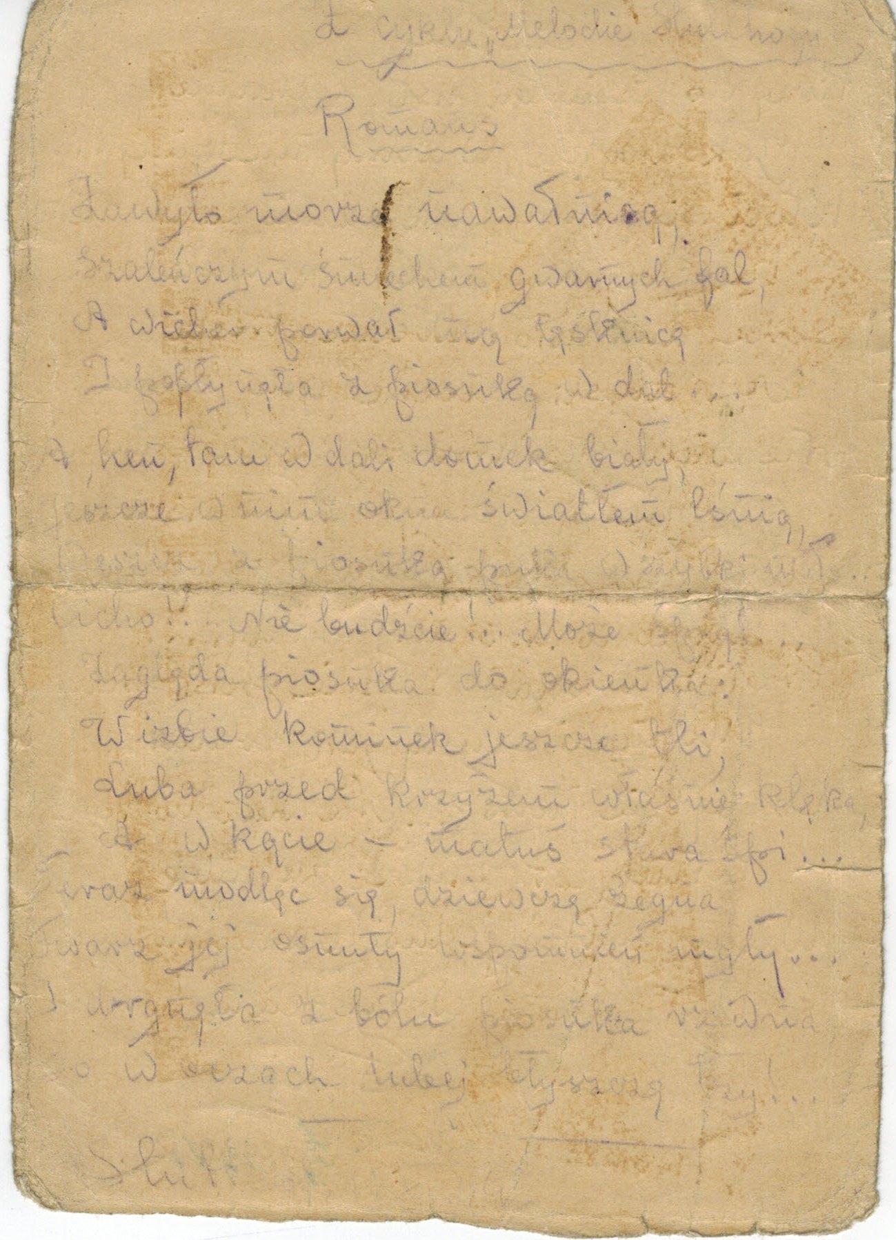 Poezja W Obozach Koncentracyjnych Muzeum Stutthof W