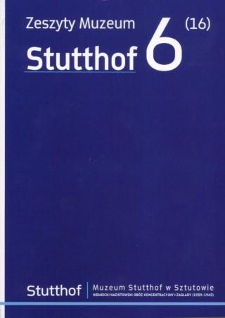 okładka Zeszyt Muzeum Stutthof Nr 6 (16)