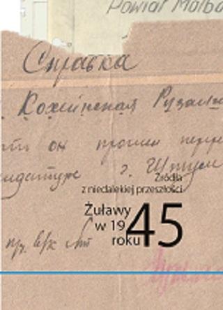 okładka Żuławy w 1945 roku. Źródła z niedalekiej przeszłości