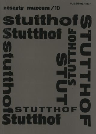 okładka Zeszyty Muzeum Stutthof Nr 10