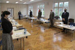 Posiedzenie Rady Muzeum przy Muzeum Stutthof w Sztutowie