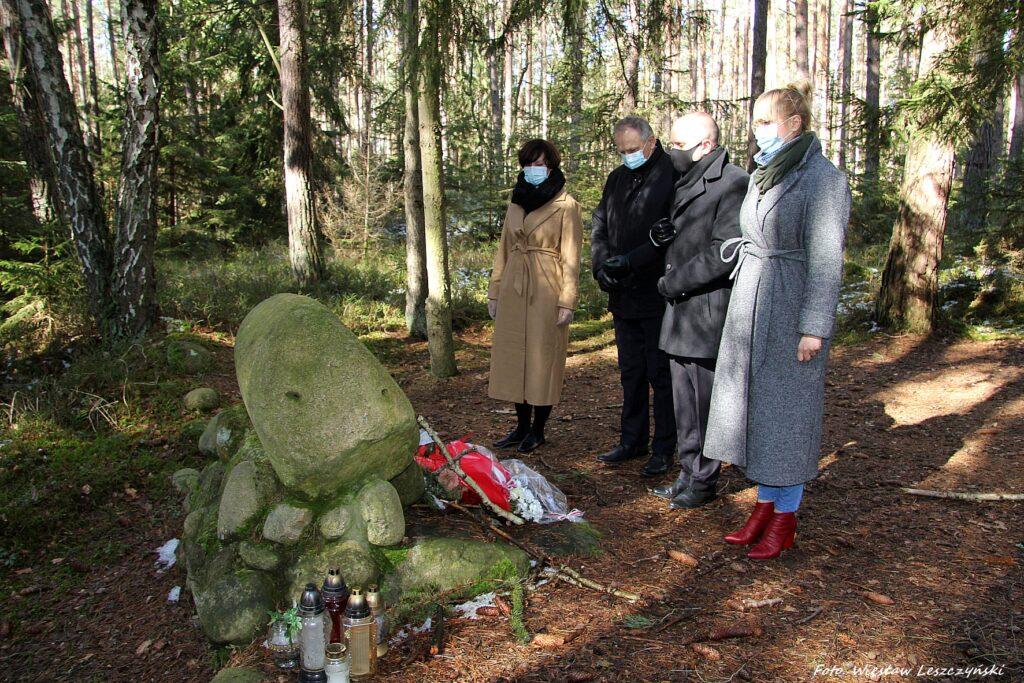 Rocznica rozstrzelania Polaków z Wolnego Miasta Gdańska w obozie Stutthof