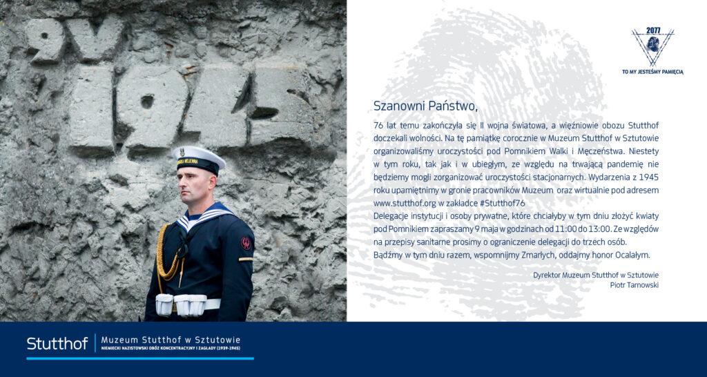 76. rocznica wyzwolenia KL Stutthof